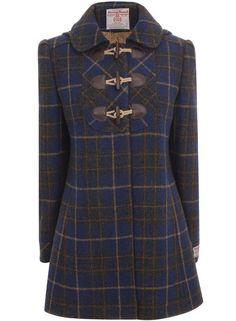 Ladies Harris Tweed Blazer Made in England Premium Quality Luxury Check Tartan