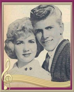 Justine and Bob from American Bandstand