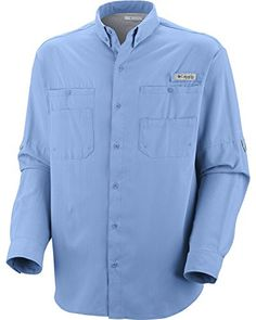 865090f1e96 Columbia Men's PFG Tamiami II Long Sleeve Shirt Camping Outfits, Camping  Clothing, Outdoor Clothing