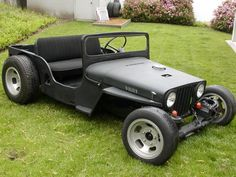 I've pondered this idea for a while. Cheaper than any typical hotrod I can think of.