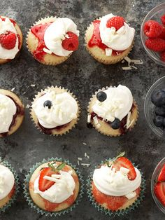 These #berry #shortcakes are the perfect treat for a summer get together.