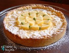 Cream Cheese Lemonade Pie is creamy, tart and full of lemony flavor. Lemon Desserts, Dessert Recipes, Cream Cheese Lemonade Pie, Gateau Cake, Good Pie, Sweet Tarts, Sweet Recipes, Food And Drink, Cooking Recipes