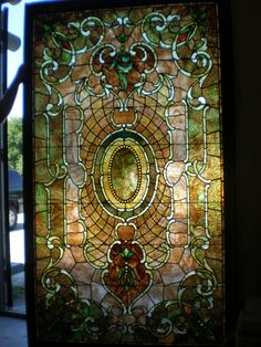 Stained Glass Art | to make this art glass window is from kokomo opalescent glass company ...
