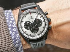 """If you want a modern Zenith El Primero watch that combines the heritage of the famed """"hi beat"""" mechanical chronograph and modern materials in a classic looking package then these new for 2017 El Primero watches will be right up read more..."""