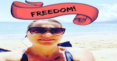 Freedom is a big buzz word in our industry because it is what we all are hoping to achieve through our network marketing business.  We want the freedom and lifestyle that this business model creates