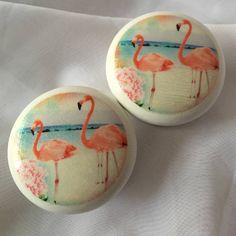 Flamingo Door Drawer Cupboard Knob
