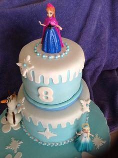 Frozen the movie Cake
