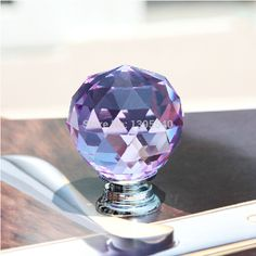 Cheap Cabinet Pulls, Buy Quality Knob Wardrobe Directly From China Cabinet  Knobs Suppliers: New Purple Crystal Cabinet Drawer Knob Wardrobe Glass  Handle ...
