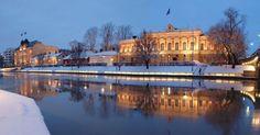 Turku Nightlife | Turku City Hall and Aurajoki | Share Your Finland | Pinterest ...