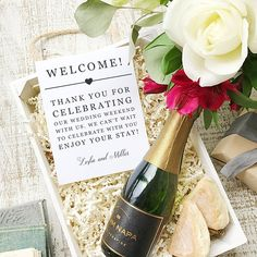 Wedding Welcome Note Printable Wedding Welcome Bag Letter