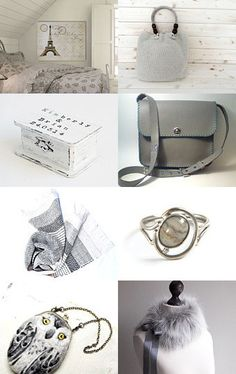 Looking for gray... by madlyvintage on Etsy--Pinned with TreasuryPin.com