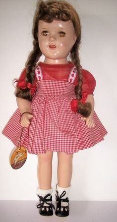 DORTHY DRESS SLIP AND PANTY DOLL CLOTHING NEW ORIGINAL BY IDEAL WIZARD OF OZ