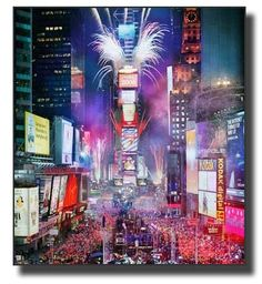 Celebrate a New Years Eve in Times Square.