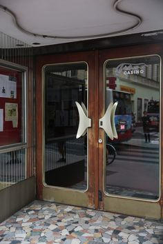 Film and Photo Shoot Locations in Austria: Entrance with Art Deco Door, Filmcasino