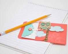 DIY School Days card - a Silhouette project