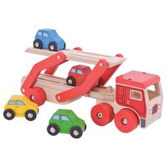 All of Bigjigs Toys' products are made from high quality responsibly sourced materials, and this Transporter Lorry is no exception!