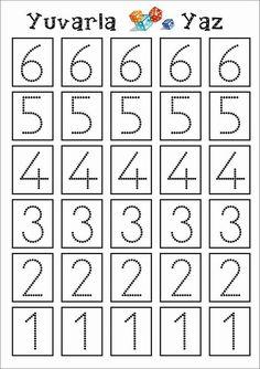 Numbers Preschool, Kindergarten Activities, Preschool Activities, Math For Kids, Fun Math, Toddler Learning, Teaching Kids, Motor Skills Activities, Preschool Projects