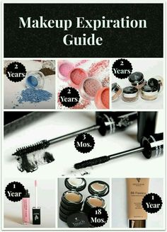 Great giude for the shelf life of your make up