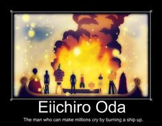 Burning a ship is so emotional is listed (or ranked) 2 on the list The Best One Piece Anime Memes