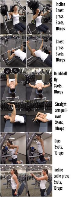 5 Week Fit Challenge: Day 1-CHEST