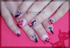Nail art 185 (Gel nails) by ~ChocolateBlood on deviantART