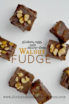 Gorgeous, super-easy vegan fudge that is also gluten-free! Fun for everyone.