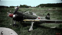 Mitsubishi A6M5 Model 52 Type 0 Zero Navy Fighter. left to waste away 1946