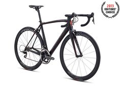 2013 Editors' Choice - Best Men's Race Bike: Specialized S-Works Tarmac SL4 Red.