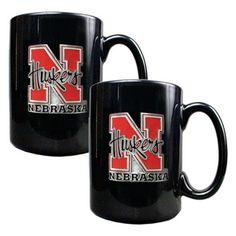 Great American NCAA Black Ceramic Mug Set - GMGM2330