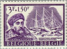 Sello: Antarctica- expedition (Bélgica) (Antarctica- expedition) Mi:BE 1449,Yt:BE 1392,AFA:BE 1468,Bel:BE 1392