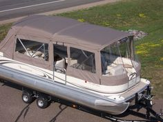 Minnesota Pontoon Covers & Enclosures | Canvas Craft... Love this idea also