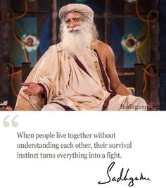 4th March quote from Sadhguru