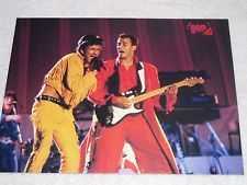 George Michael WHAM Era with KEVIN BACON Full Color Pin Up Hot Sexy Magazine pic