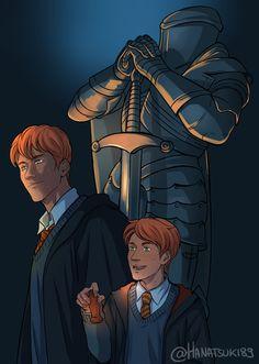 Harry Potter Magic, Harry Potter Fan Art, Ron And Hermione, Ron Weasley, Hogwarts, Fanfiction Writer, Make Avatar, Rupert Grint, Harry Potter Collection