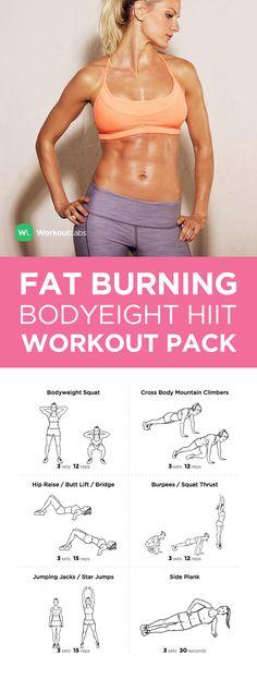 Visit http://WorkoutLabs.com/workout-packs/fat-burning-metabolic-master-bodyweight-hiit-workout-pack to download this Fat Burning Metabolic Master Bodyweight HIIT Workout Pack