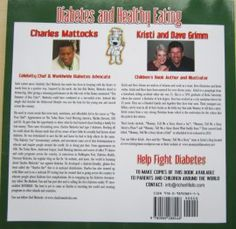 Diabetes and Healthy Eating by Charles Mattocks and Kristi Grimm: Illustrator Dave Grimm    An insight into this wonderful book - 2