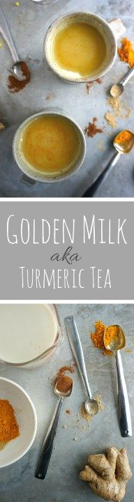 Golden Milk, or Turmeric Tea, is a great Vegan tea recipe that heals colds and helps fight the flu virus. And it's yummy! #Glutenfree #dairyfree | savoringsimple.com