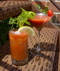 Tequila in Your Bloody Mary? Yes, Please!: Bloody Maria and Bloody Tini Cocktails