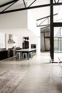Music Legend Mark Lizottes Warehouse Conversion With A Caesarstone Kitchen