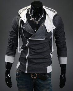 Assassin's Creed 3 Desmond Miles Hoodie Costume Coat Jacket Hoody Cosplay T003 | eBay
