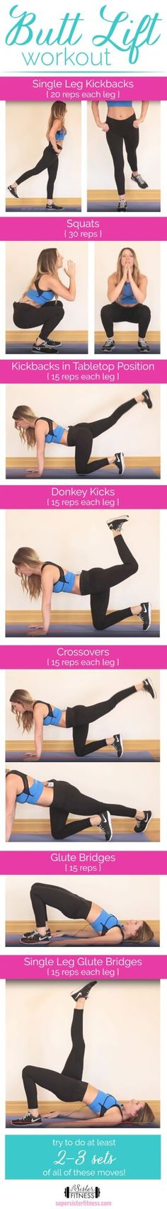 Lazy Girl Workout for legs and butt. Feel the burn!