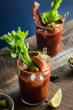 Looking for a great cocktail for your next party? Try setting up a great Bloody Mary bar complete with an ultimate Bloody Mary mix, Old Bay for your glass rims and some amazing garnishes!