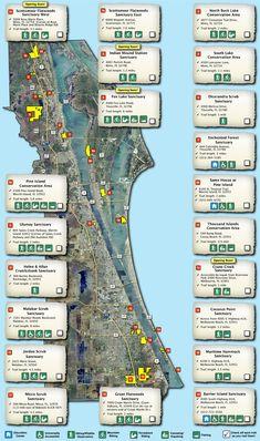 Brevard County Environmentally Endangered Land Sites (EEL) Sanctuary Map