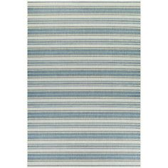 Wexford Marbella Blue/Sand Indoor/Outdoor Area Rug