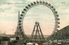 Expo paris 1900 - Bastille/La Grande Roue de l'exposition