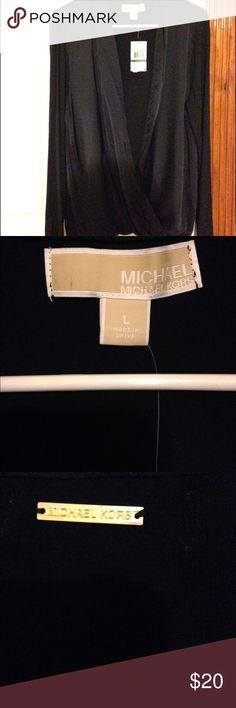 Michael Kors long sleeve Size large Michael Kors Tops Blouses