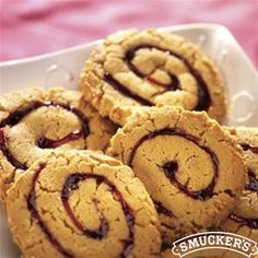 Peanut Butter and Jam Pinwheels from Smucker's®
