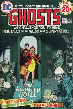 Ghosts N°27 (June 1974) - Cover by Nick Cardy