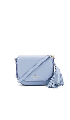 Shop for kate spade new york Small Penelope Crossbody Bag in Grey Skies at REVOLVE. Free 2-3 day shipping and returns, 30 day price match guarantee. Handbags On Sale, Luxury Handbags, Purses And Handbags, Gucci Handbags, Designer Handbags, Luxury Purses, Design Bleu, Side Purses, Kate Spade Handbags