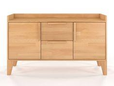 Komoda drewniana bukowa Skandica AGAVA - Internetowy sklep meblowy Onemarket.pl - #meble #komoda #komody #chestofdrawers #bedroom #cabinet #sypialnia #polskiemeble #stylskandynawski #polskiproducent Komodo, Credenza, Cabinet, Storage, Furniture, Design, Home Decor, Clothes Stand, Purse Storage